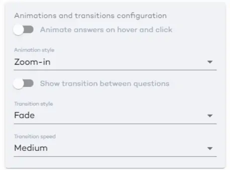 anumations and transitions