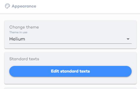 edit standard texts